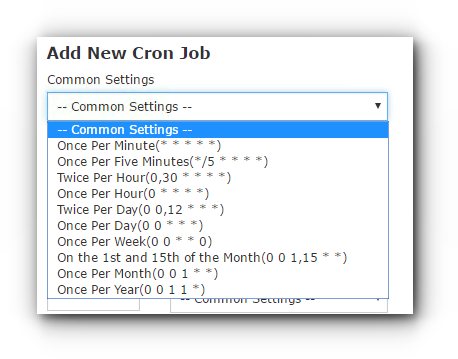 How To Schedule Tasks With Cronjobs In cPanel