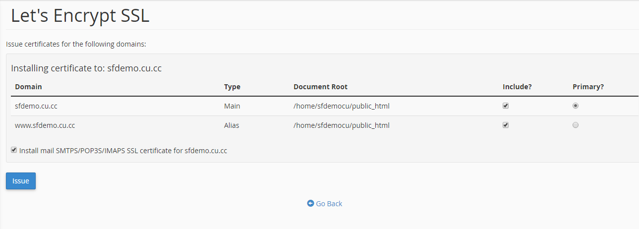 How To Enable Lets Encrypt Free Ssl Knowledgebase Serverfreak
