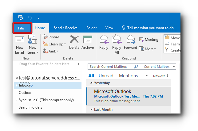 How to Setup Outlook Office 365 with Outlook 2016 Using IMAP
