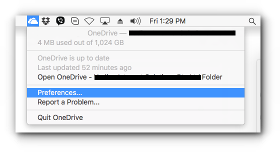 How to Setup Microsoft OneDrive in Mac OS - Knowledgebase