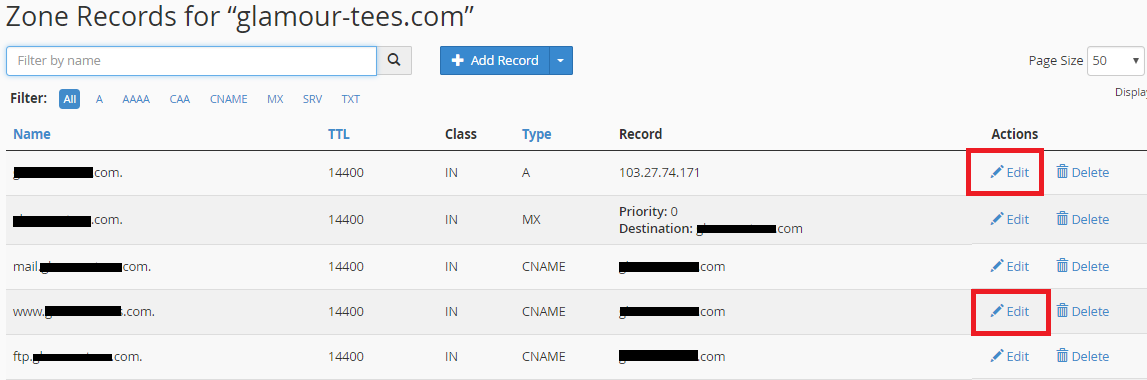 How To Point A Domain Name To Wix In Cpanel Ip Address Method